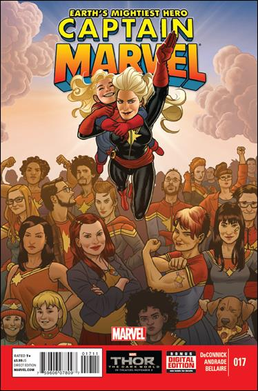 Captain Marvel (2012) 17-A by Marvel