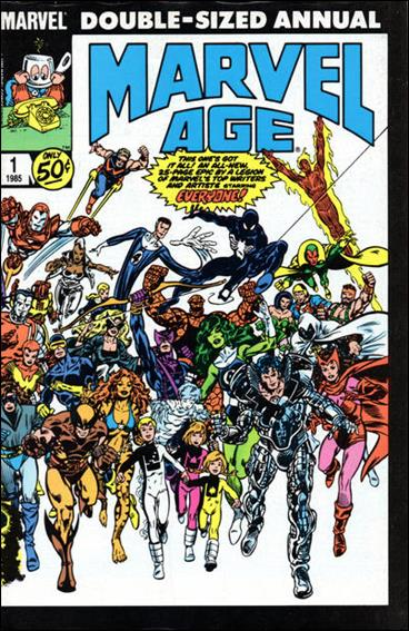 Marvel Age Annual 1-A by Marvel