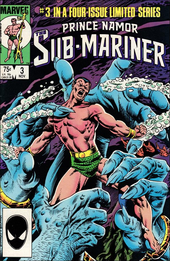 Prince Namor Sub-Mariner 3-A by Marvel
