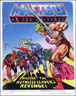 Masters of the Universe (1983) 4.9-B by Mattel