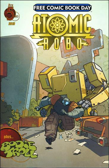 Atomic Robo / Bodie Troll Free Comic Book Day 2013 nn-A by Red 5 Comics