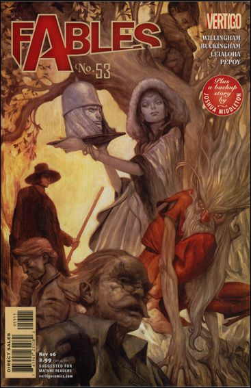 Fables 53-A by Vertigo
