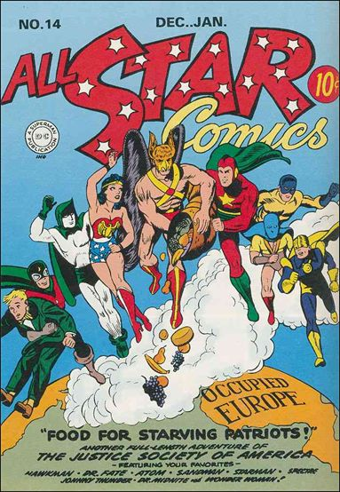 All Star Comics (1940) 14-A by DC