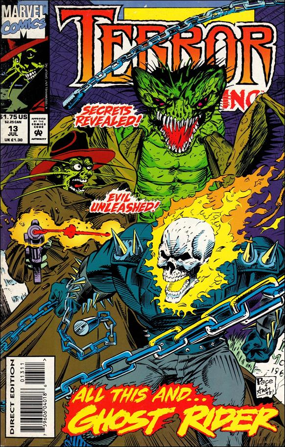 Terror, Inc. (1992) 13-A by Marvel