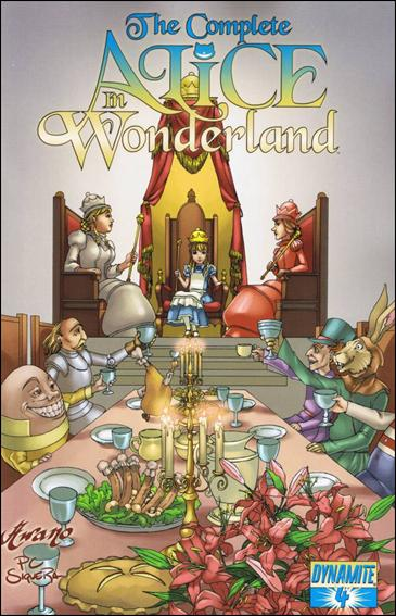 Complete Alice in Wonderland 4-A by Dynamite Entertainment