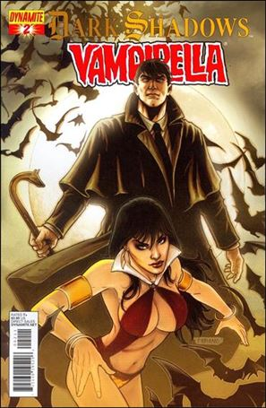 Dark Shadows / Vampirella 2-A