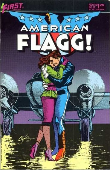 American Flagg! (1983) 26-A by First