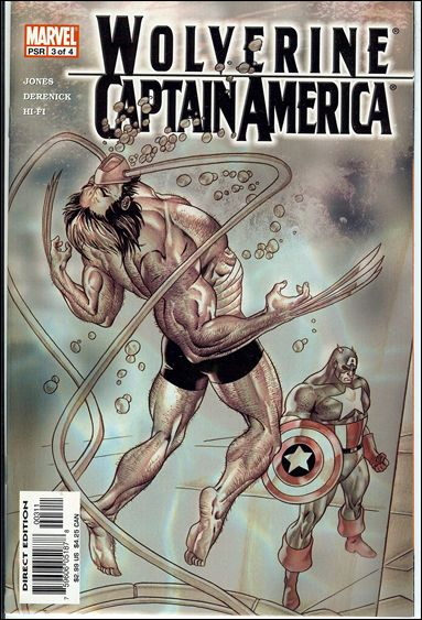 Wolverine/Captain America 3-A by Marvel