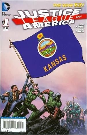 Justice League of America (2013)  1-MQ by DC