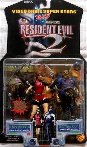 Resident Evil 2 Claire Redfield And Zombie Cop Jan 1998 Action