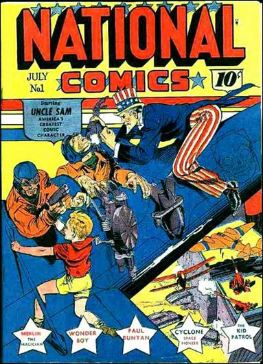 National Comics (1940) 1-A by Quality