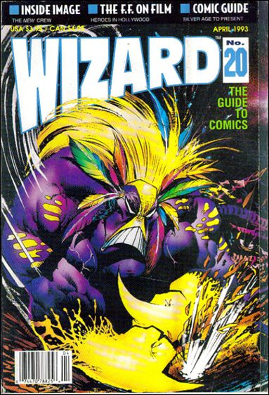 Wizard: The Guide to Comics 20-A by Wizard Press