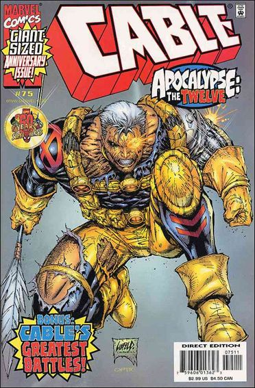 Cable (1993) 75-A by Marvel