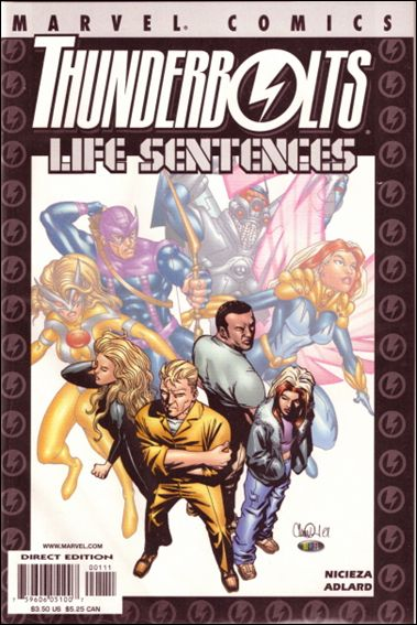 Thunderbolts: Life Sentences 1-A by Marvel