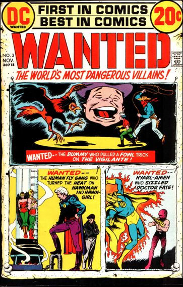 Wanted, the World's Most Dangerous Villains 3-A by DC