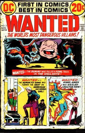 Wanted, the World's Most Dangerous Villains 3-A