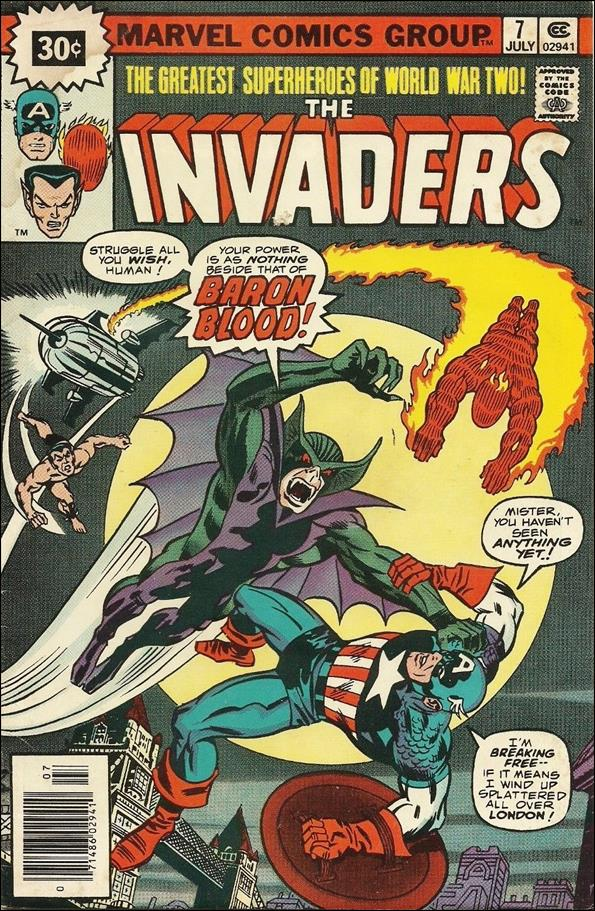 Invaders (1975) 7-B by Marvel