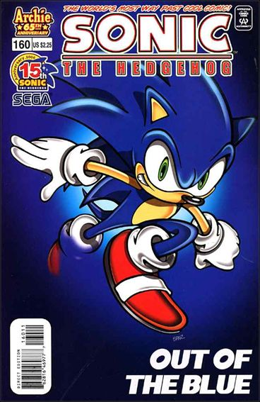 Sonic the Hedgehog (1993) 160-A by Archie