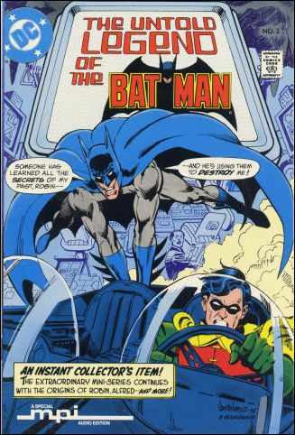 Untold Legend of the Batman 2-C by DC