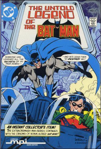 Untold Legend of the Batman 2-C by DC
