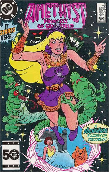 Amethyst, Princess of Gemworld (1985) 9-A by DC