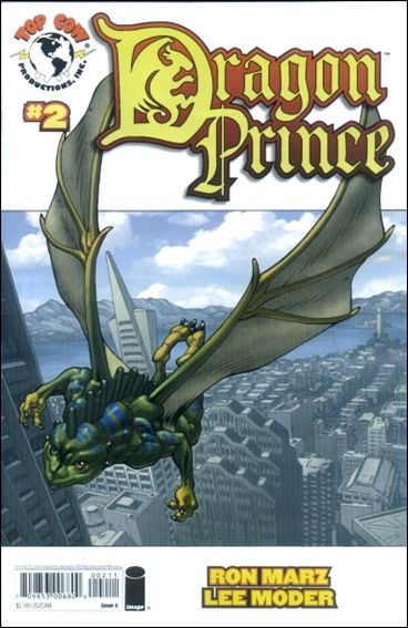 Dragon Prince 2-B by Top Cow