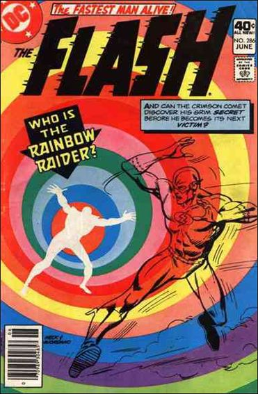 Flash (1959) 286-A by DC