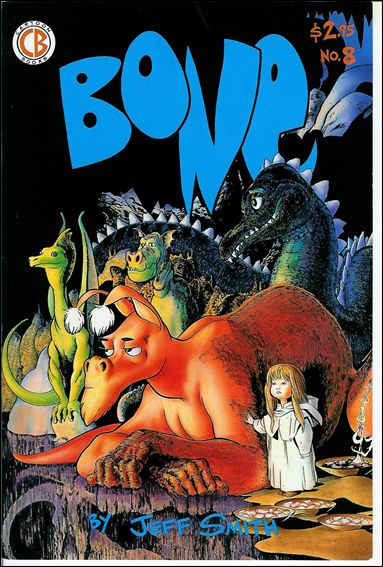Bone (1991) 8-A by Cartoon Books
