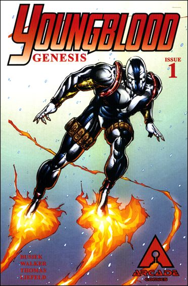 Youngblood Genesis 1-C by Arcade Comics