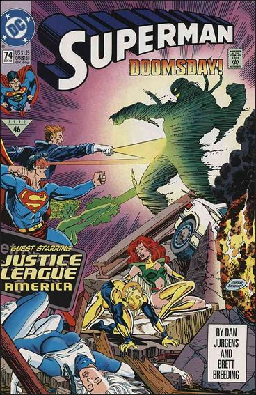 Superman (1987) 74-A by DC