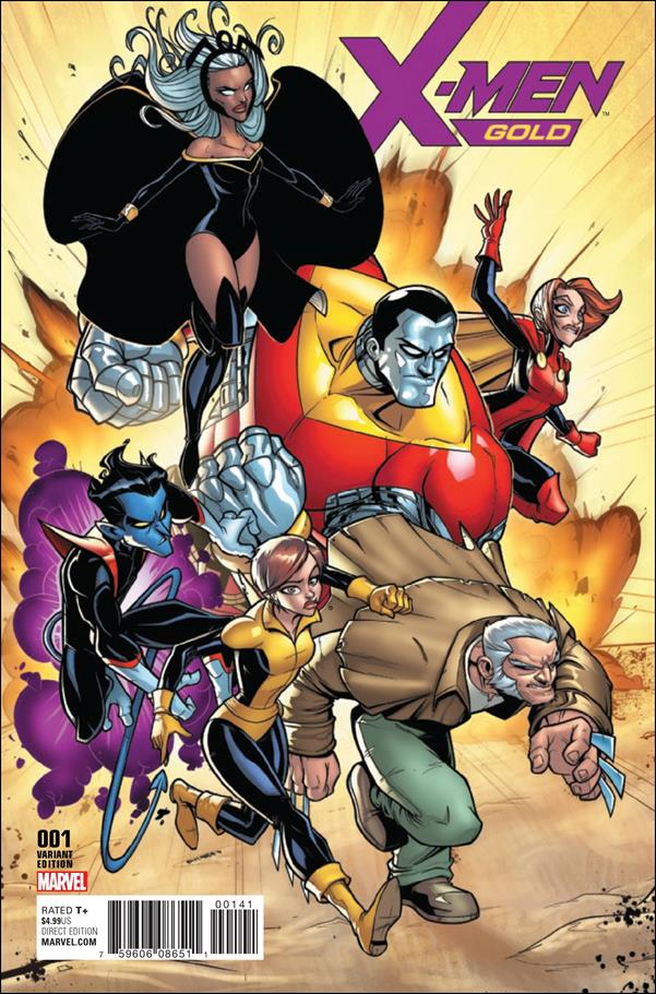 X-Men: Gold 1-F by Marvel