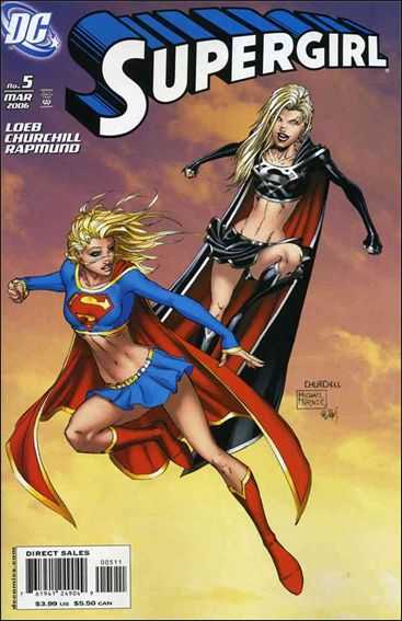 Supergirl (2005) 5-A by DC
