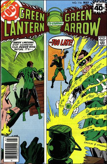 Green Lantern (1960) 116-A by DC