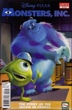 Monsters, Inc. (2013) 2-A by Marvel