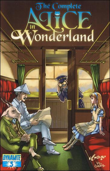 Complete Alice in Wonderland 3-A by Dynamite Entertainment