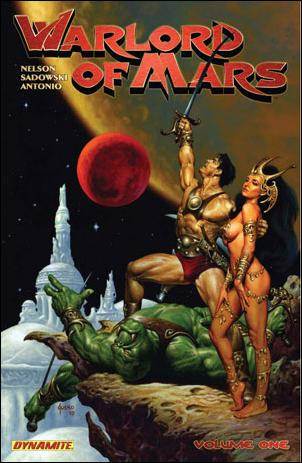 Warlord of Mars 1-A by Dynamite Entertainment