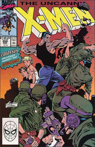 Uncanny X-Men (1981) 259-A by Marvel