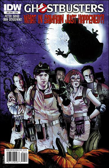 Ghostbusters: What In Samhain Just Happened?! 1-A by IDW