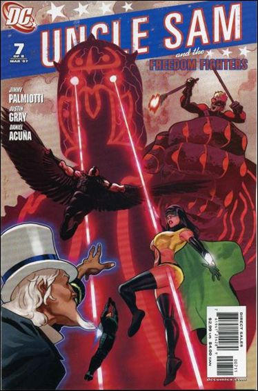 Uncle Sam and the Freedom Fighters (2006) 7-A by DC