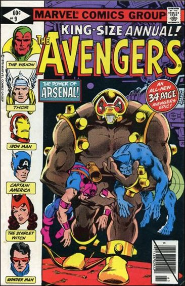 Avengers Annual 9-A by Marvel