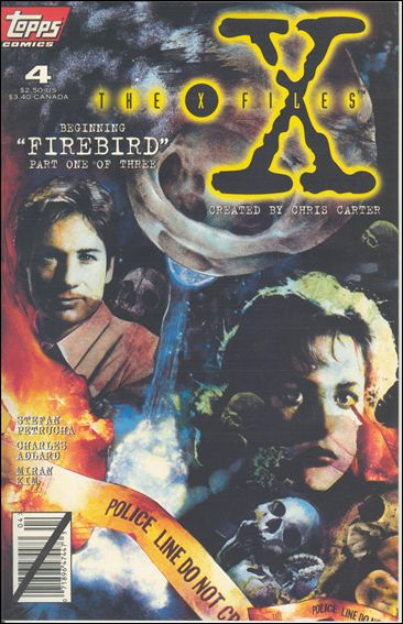 X-Files (1995) 4-A by Topps