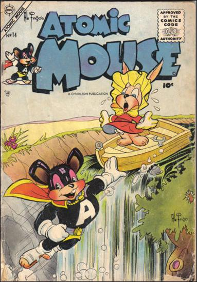 Atomic Mouse (1953) 14-A by Charlton