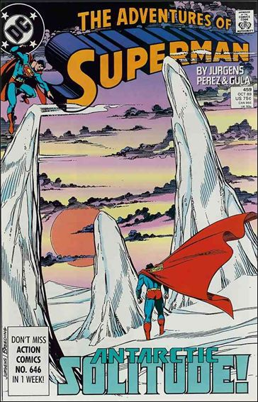 Adventures of Superman (1987) 459-A by DC