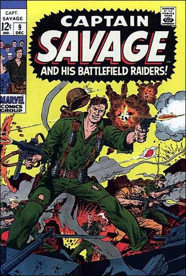 Captain Savage  9-A by Marvel