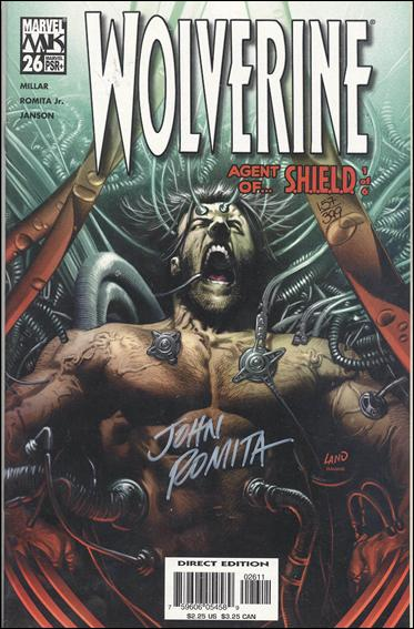 Wolverine (2003)  26-C by Marvel