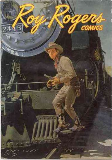 Roy Rogers Comics 11-A by Dell