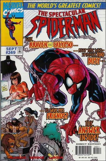 Spectacular Spider-Man (1976) 249-A by Marvel