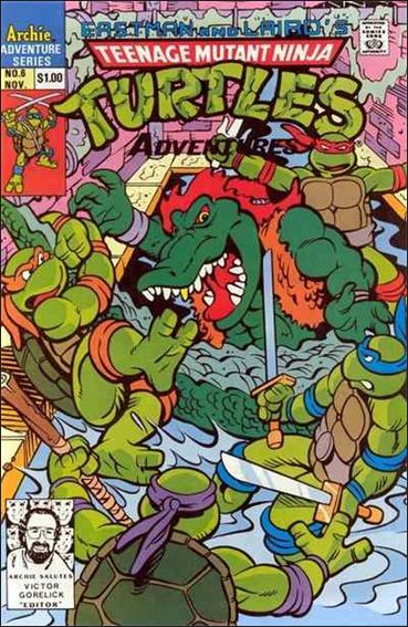Teenage Mutant Ninja Turtles Adventures (1989) 6-A by Archie