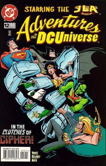 Adventures in the DC Universe 12-A by DC
