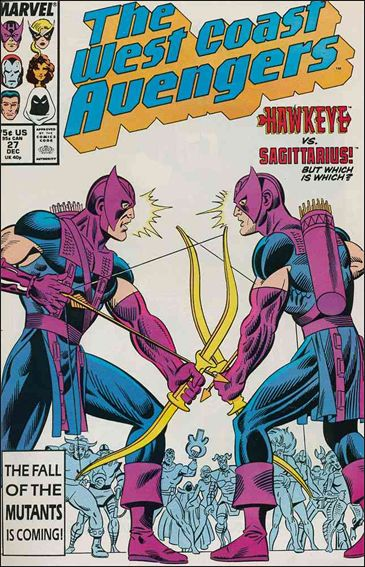 West Coast Avengers (1985) 27-A by Marvel